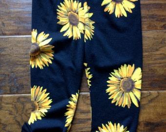 Bondi Sunflower knit Leggings