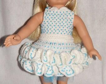AG Doll Beaded Ruffled Dance Dress