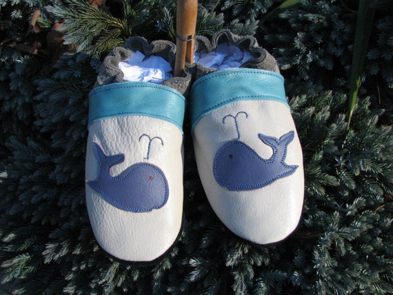 NEW - Baby Shoes - Soft sole - Leather - Size 4 T / 5 T