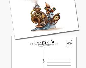 Snail Mail: Steam Snail