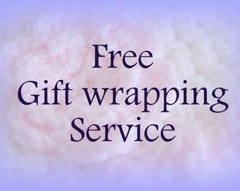 Free gift wrap service.