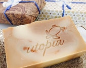 Utopia Bath Cashmere Silk and Gold Soap