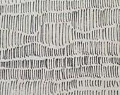 Tapestry in Velvet : organic linen/organic cotton