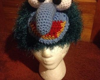 Muppet Inspired Gonzo Crochet Hat