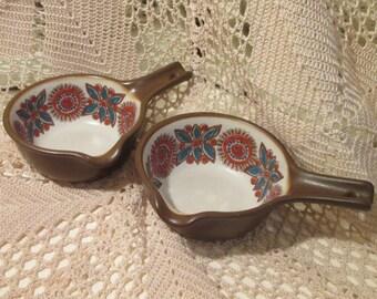 Vintage Figgjo Flint Norway Astrid Pattern Flameware Dishes