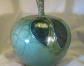 Green Ceramic Apple...