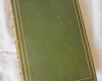 Antique Book Hardcover 1920s The Trail Of Life In College by Rufus M Jones Professor of Philosophy in Haverford College