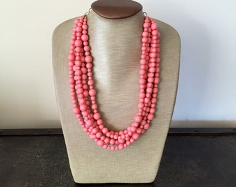 LIMITED EDITION The Prettiest Coral Statement Necklace