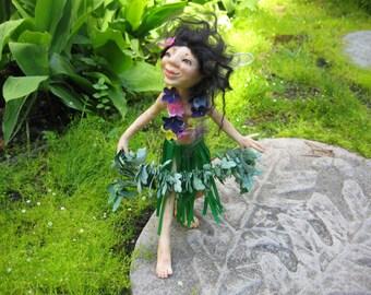 Garden Sprite Leilani HANDMADE Sprite Faerie Fairy Doll
