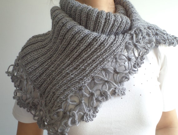Scarf, Cowl, Accessories, Gift İdeas, for her, neck warmer, Capelet, scarves, Women accessories, women cowl, gift ideas, holiday gifts