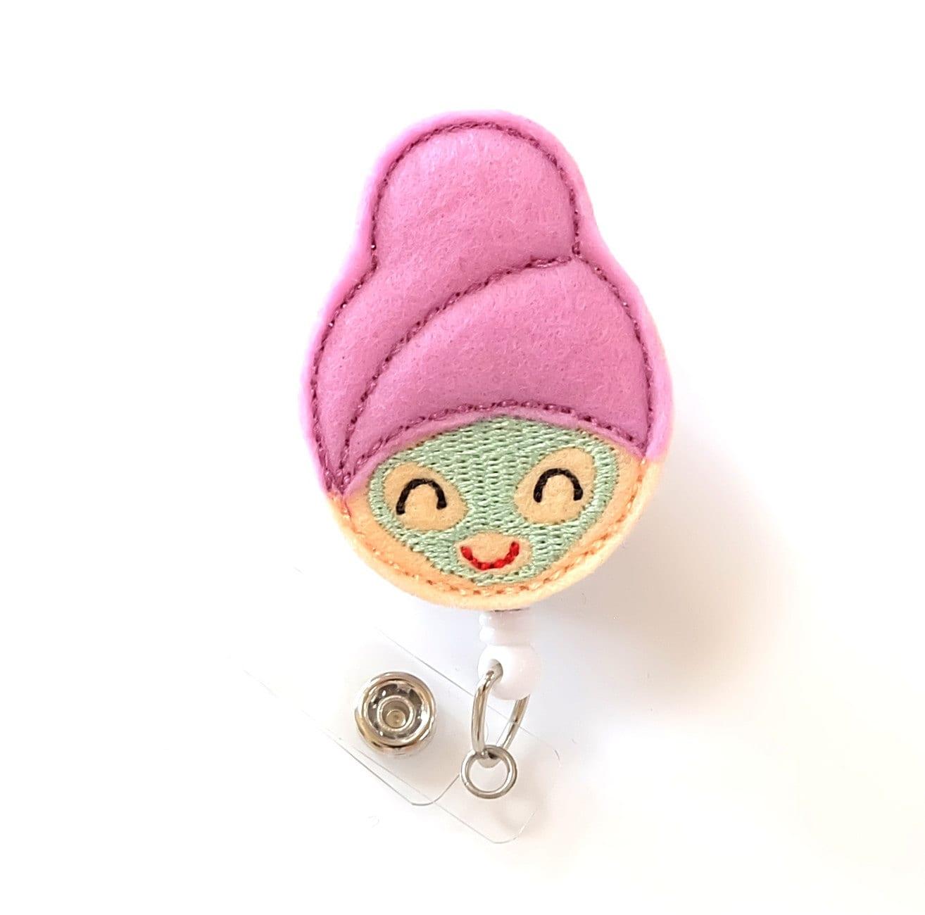 Design t shirt esthetician - Spa Girl Day Spa Staff Badge Holder Cute Badge Reel Esthetician Gifts