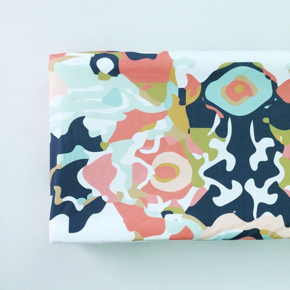 Items Similar To Changing Pad Cover Coral Jubilee. Change