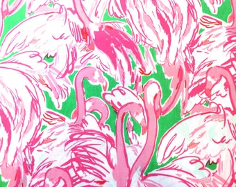 Lilly Pulitzer Prep Green Pink Colony 9 X 18 or 18 X 18 inches