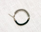 SALE - HELLAS Rope and Chain Bracelet