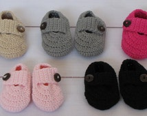 Sale- Baby crochet shoes for Boys and Girls