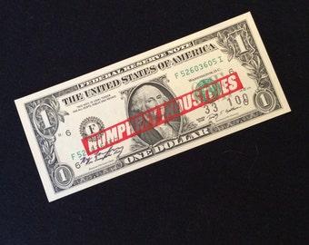 Untitled (Dollar Bill) by Ryan Humphrey, 2013 Original Limited Edition Screenprint