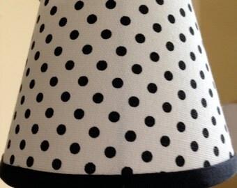 Polka dot lamp | Etsy