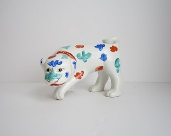 Decorative Ceramic Dog
