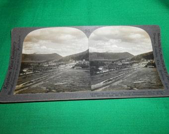 One (1), Keystone View Company, Stereoscopic Card No. V 23288, The Charming White Mountains,  Circa 1920.