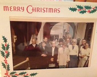 Christmas Card Group Photo 1958