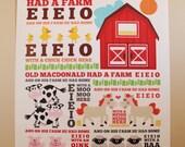 Old MacDonald poster