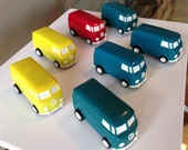 Vintage Musical Soundwagons Volkswagon VW Bus Record Player and Speaker