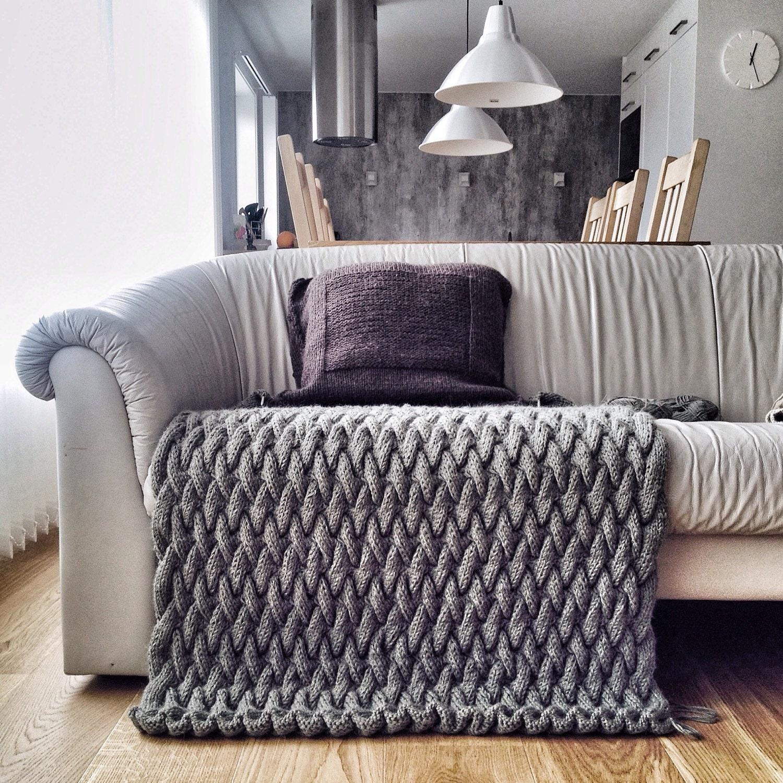 Knitting Pattern Blanket Knitting Pattern Tutorial Knit