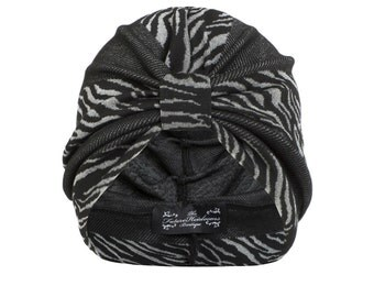 Sienna Stripe Jersey Turban