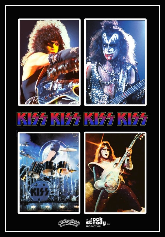 KISS Band Collectibles ***KISS Alive II Tour Stand-Up Display*** Kiss Army Kiss Memorabilia Kiss T Shirt Gift Idea Retro Kiss Poster kiss76