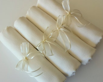 4 SET IVORY ( soft cream) PASHMINA Shawl. 4 Ivory Shawl. Bridesmaid gifts. Bridesmaid shawls. Pashmina Scarf. Wedding favor.