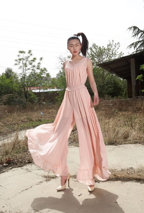 chiffon maxi dress,prom dresses,spring dress,beach dress,summer dress,chiffon dress wide-leg pants tulle skirt tulle dress tulle pants