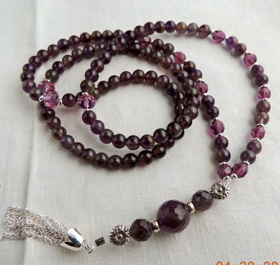 how to finish a mala without a tassel