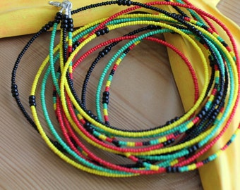 Mother Africa - Five Strander Deluxe Waistbeads