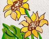 Sunflowers - ACEO Original