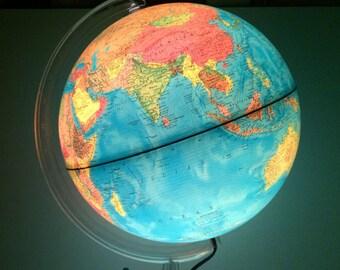Italian Illuminated Globe