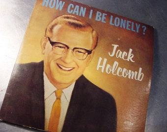 Vinyl Record Album CHRISTIAN FOLK Vintage Why am I Lonely Jack Holcomb