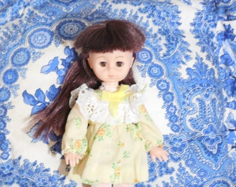 Vogue Ginny Doll Nice Dark Hair / Gift Idea / Childhood Memories / :) S / NOT INCLUDED In Discount Sale
