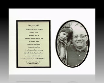 Wedding Memorial Personalized Custom Tribute Picture Poem