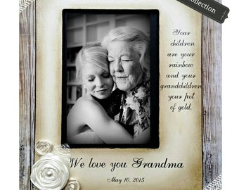 Grandma Gift Wedding Frame Bride Keepsake Personalize Picture Frame 4x6 grandmothers.5x7 mothers day