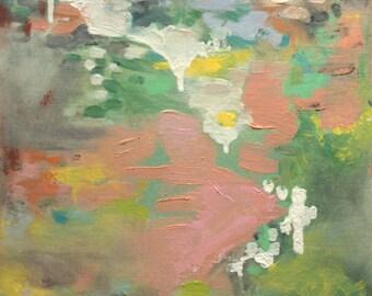"Modern Art Print-- Archival Print of Original Painting-- ""Peaches"""