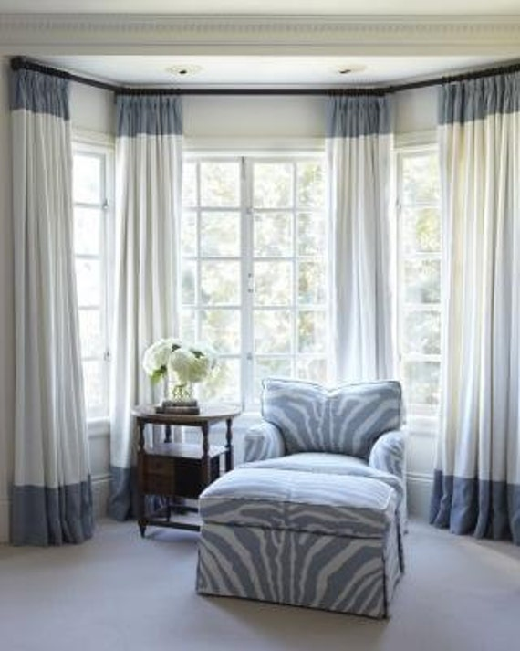 Curtains Ideas colorblock curtains : border curtain panels