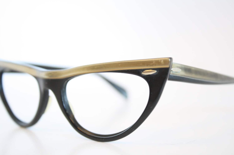Unusual Designer Eyeglass Frames : Unique Cat Eye Eyeglasses Vintage Eyewear Retro Glasses Cat