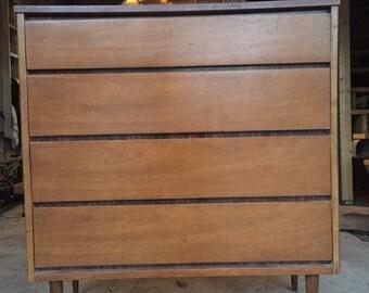 SALE-Classic Danish modern mid century 4-drawer dresser  Eames era