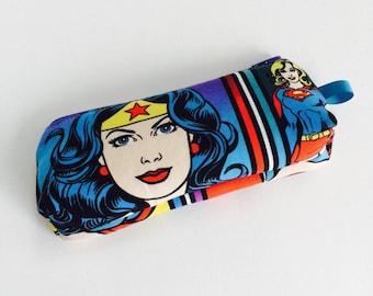 Wonder Woman, Girl Power Zipper Pouch - Small