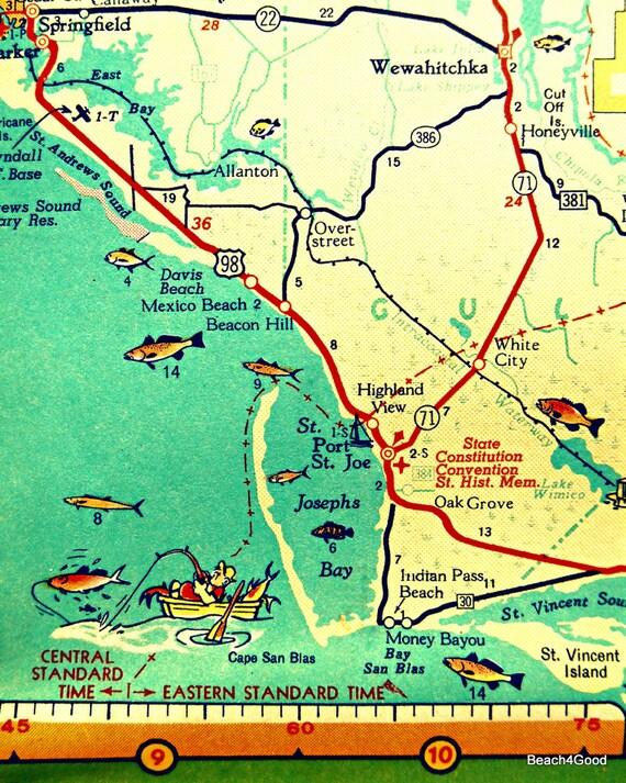 mexico city beach florida map