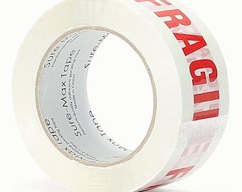 Fragile Tape 2.0 mil 330 Feet (110 yards)