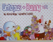 Octopus and Bunny Comic- Book 2 - FULL COLOR