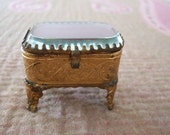 Antique French Jewel Cask...