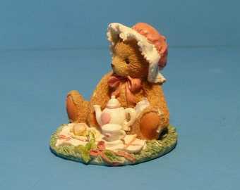 "Cherished Teddies, Collectible, Marie Teddies ""Friendship Is A Special Treat"""