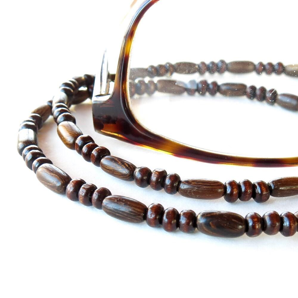 how to make a beaded eyeglass chain